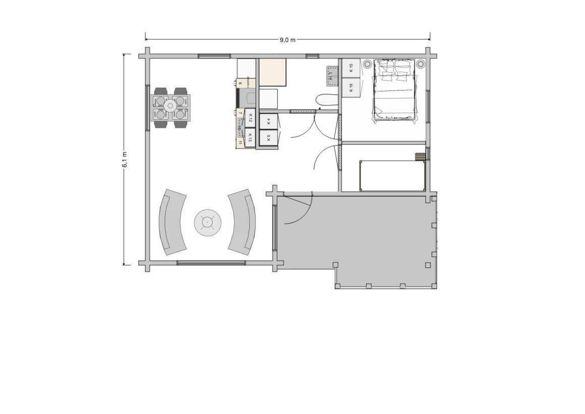 Blomster - Main floor
