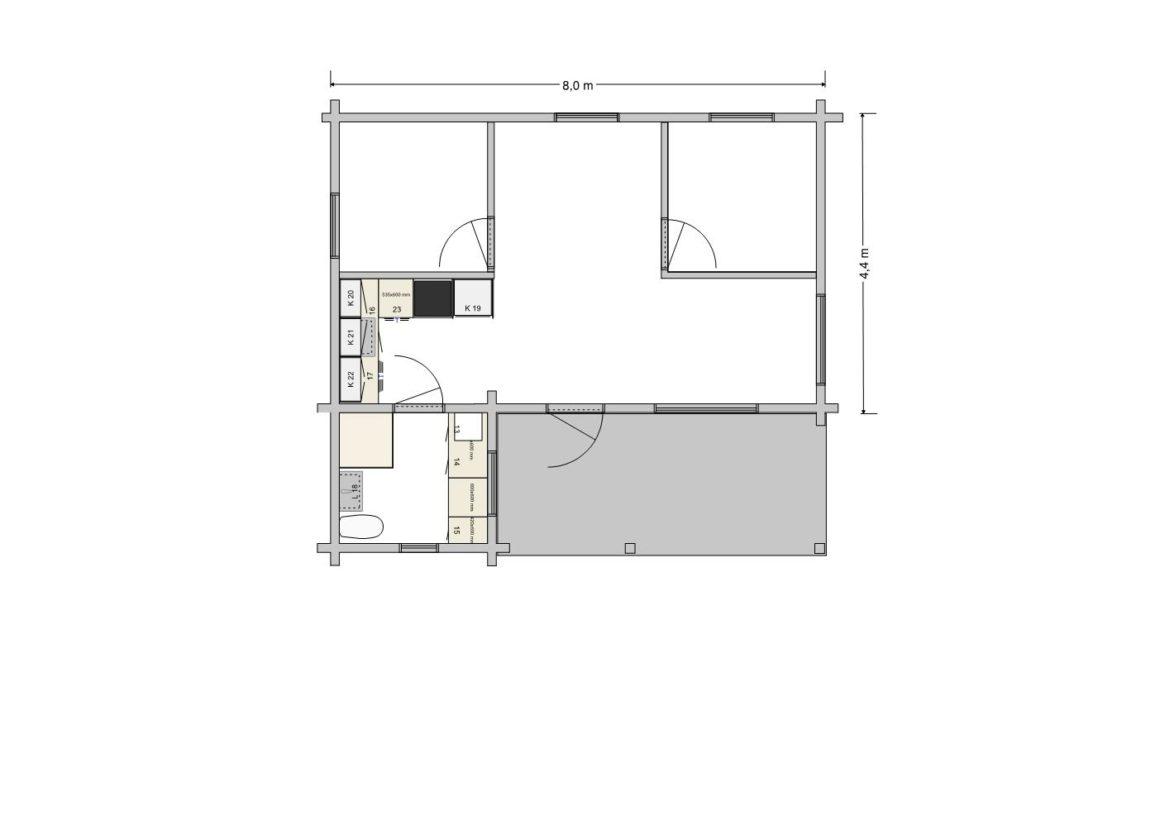 Nässelblad one level - suggestion 2