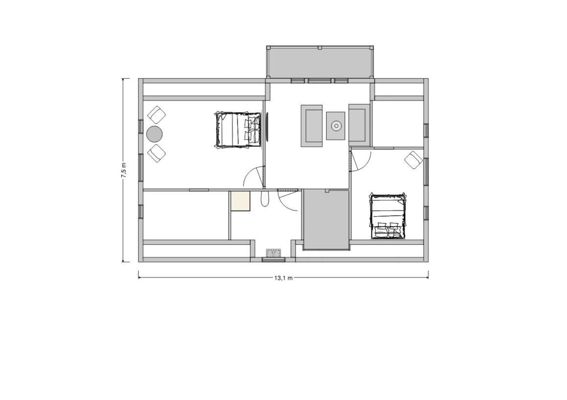 Solgården - First floor