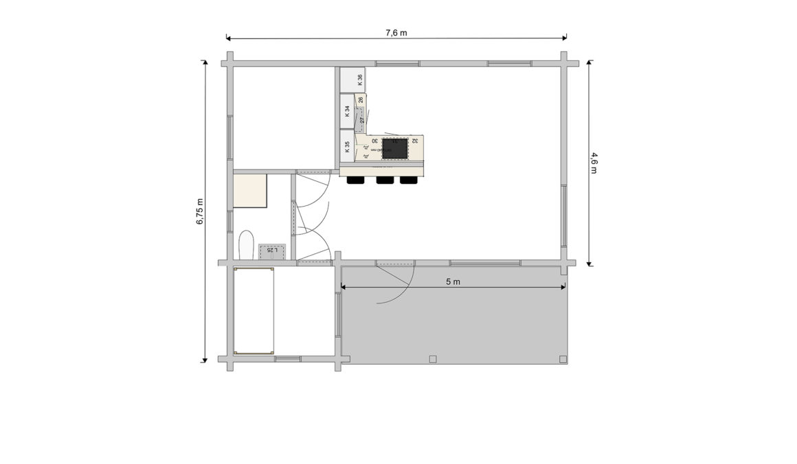 Nässelblad 1-plan - Förslag 4